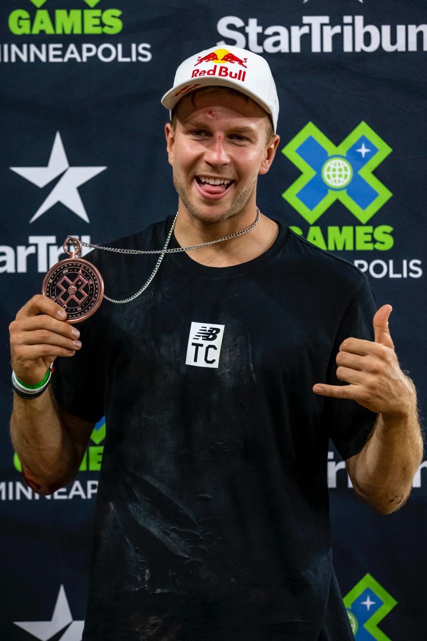 Dawid Godziek przywozi brązowy medal z X-GAMES Minneapolis