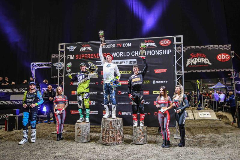 SuperEnduro Budapeszt: podium Junior