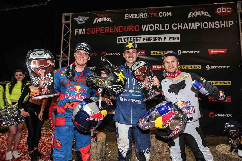 SuperEnduro Budapeszt: podium Prestige