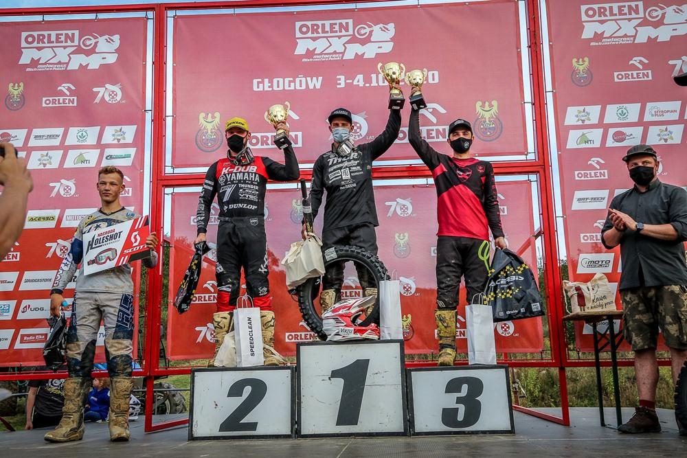 Poznaliśmy Mistrzów Polski w Motocrossie 2020 - podium MX2