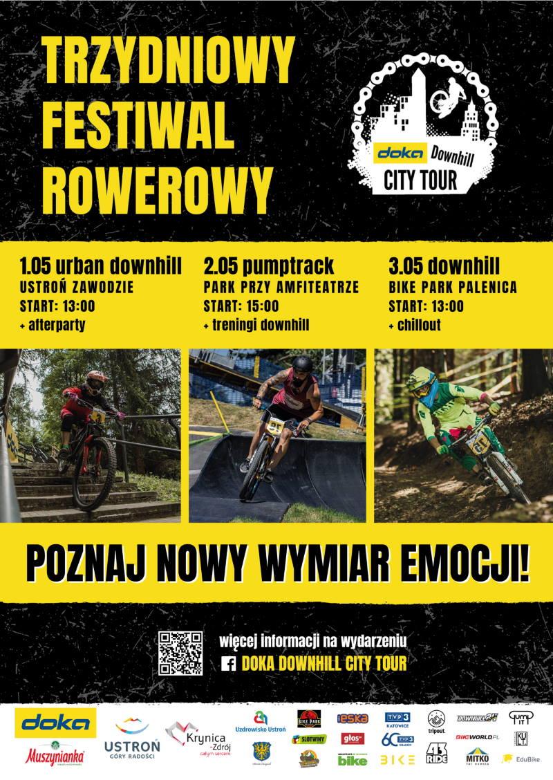 Ekstremalne rowerowe emocje w Ustroniu i Krynicy-Zdrój!