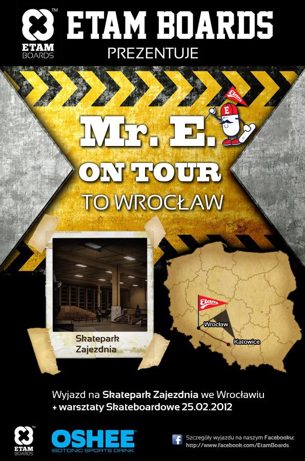 ME. E ON TOUR z Katowice do Wrocław