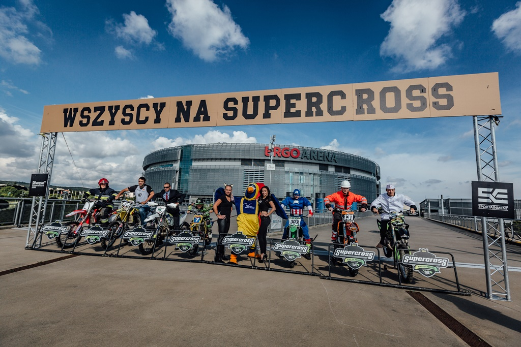 Mistrzostwa Europy Supercross 2017 - Ergo Arena