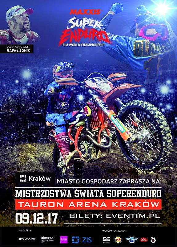Mistrzostwa Świata SuperEnduro wracają do Krakowa!