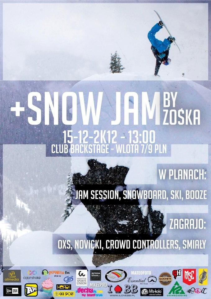 Snow Jam + Birthday Zośki !