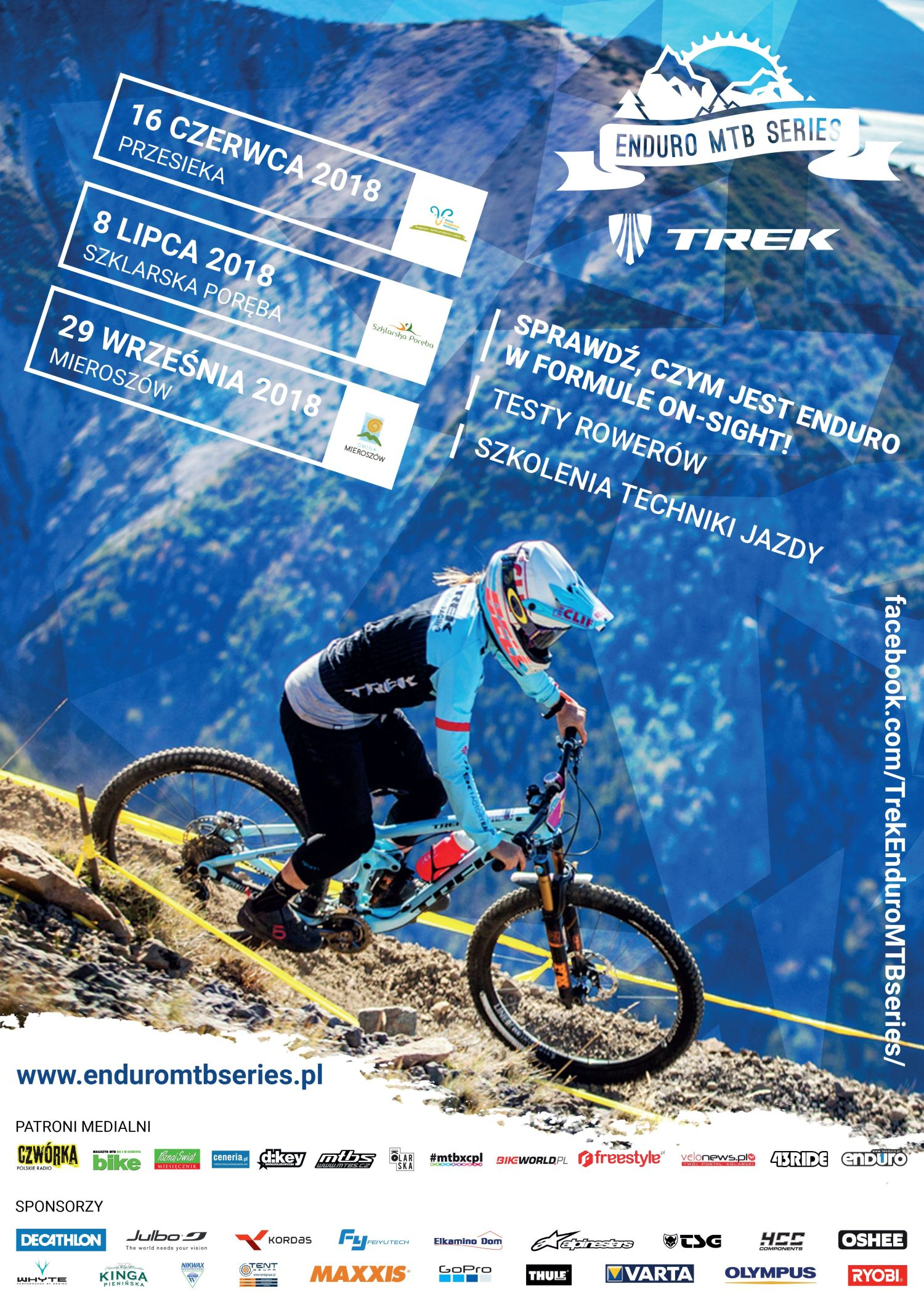Trek Enduro MTB Series 2018