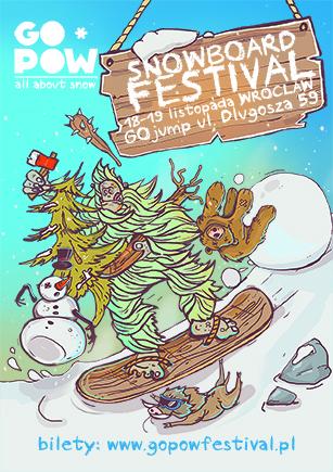 GO*POW - festiwal snowboardowy, 18-19 listopada - Wrocław