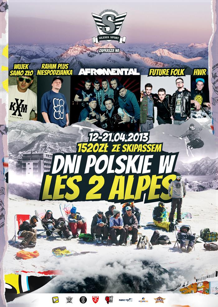 Dni polskie w Les 2 Alpes