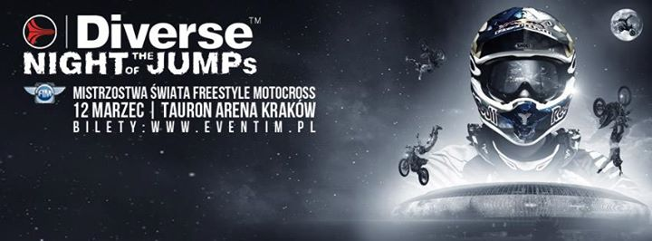 Mistrzostwa Świata FMX - Diverse NIGHT of the JUMPs 2016 Tauron Arena Kraków Poland