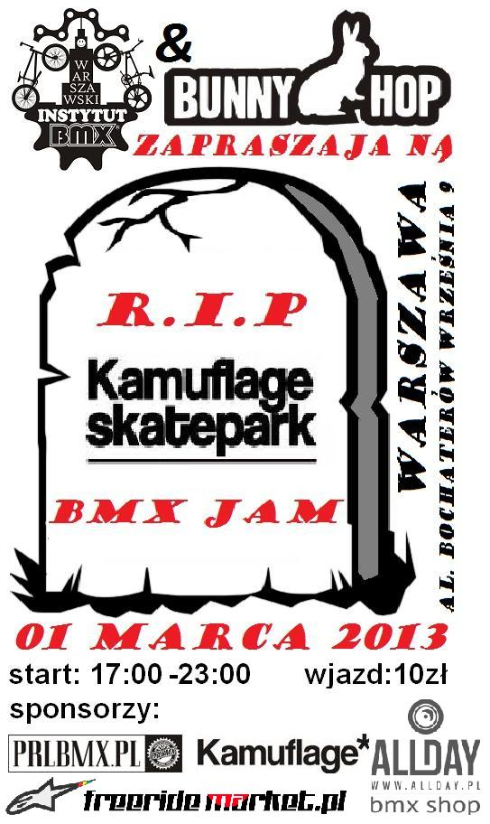 R.I.P. Kamuflage BMX Jam