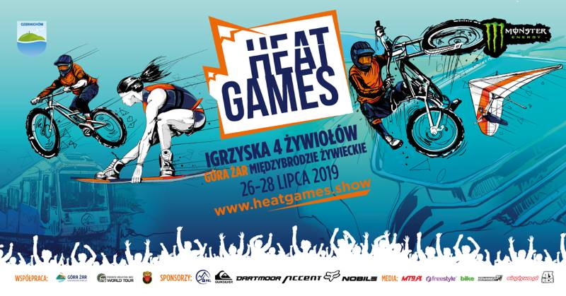 Heat games 2019 – pierwsza edycja sportowych igrzysk czterech Żywiołow