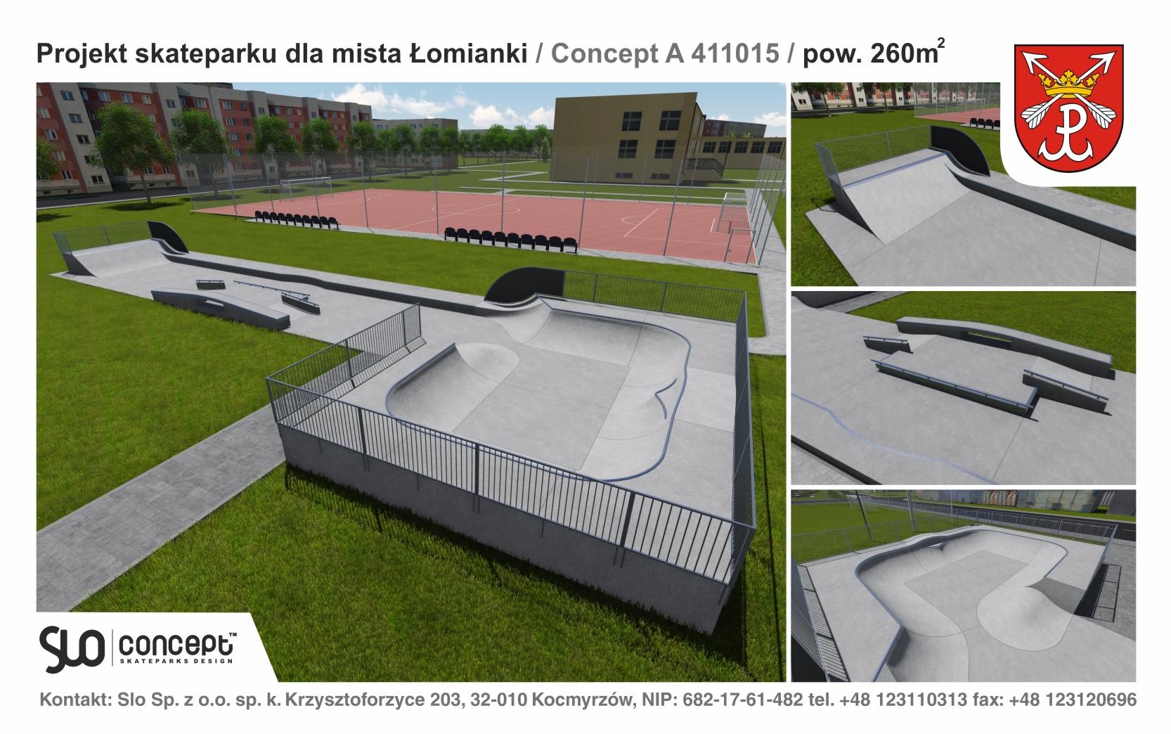 Skateprk Łomiaki