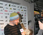 Maciej Skiba na Gali Freestyle BMX Awards 2012