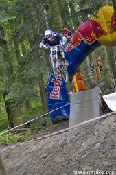 Diverse Downhill Contest w Myślenicach - Gundars Osis