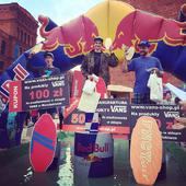 Red Bull Skim It 2015 -Podium