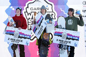 Podium PE FIS Snowboard Men
