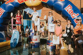 Podium Red Bull Skim It 2016 - V edycja