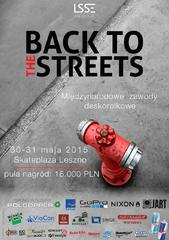 Back to the Streets 2015