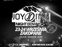Night Downhill-Plakat