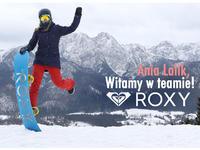 Ania Lalik w teamie ROXY