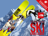 Wygraj narty - Konkurs The North Face® Ski Challange presented by Gore-Tex®