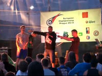 Łukasz Chwieduk Mistrzem Europy we Freestyle Footballu!