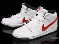 Nike SB Dunk Mid Pro White/Red/Black