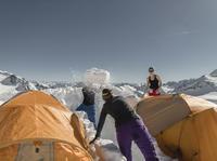 Biwak Camp Stubai Glacier