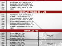 Harmonogram G-Shock BMX Day 2013