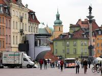 Warszawa i szał Euro 2012 - Starówka