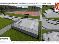 Skatepark Łomianki ICDS