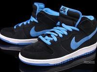 Nike SB Dunk Mid Pro Black/Orion Blue
