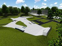 Skatepark w Drezdenku