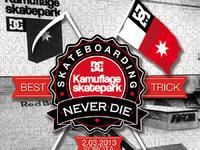 Skateboarding Kamuflage Never Die