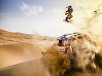 Wakacyjny freestyle Przygońskiego i Pawlusiaka na pustyni