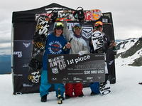 Sebastien Toutant wygrał zawody Billabong Ante Up