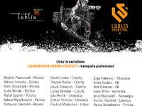 Lublin Sportival 2015 - lista zawodników snowboard