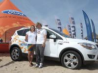 Ford Kuga dla najlepszych kitesurferów