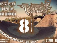 Mistrzostwa Polski Dirt MTBMX Milanówek