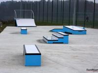 Mini betonowa skateplaza w Torzymiu