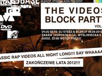 Rap History Warsaw – THE VIDEOS BLOCK PARTY vol.5 – zakończenie lata