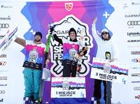 Podium GWSF Open Ski Men