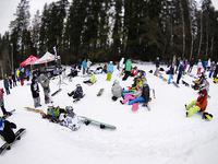 Snowboarderzy na Burton Easter Jam 3