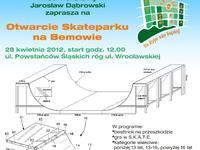 Otwarcie Skateparku na Bemowie