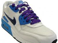 Nike Air Max 90 White/ Deep Royal Blue