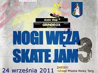 Nogi Węża Skate Jam 3 - wyniki