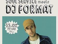 15.02 Warszawa: Soul Service Meets DJ Format (UK)