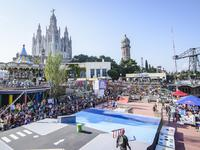Barceloński Finał Red Bull Skate Arcade