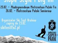 Mistrzostwa Polski w Snowboardzie Slopestyle i Big Air