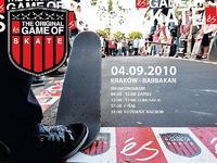Es Game Of Skate w Krakowie 5 września!